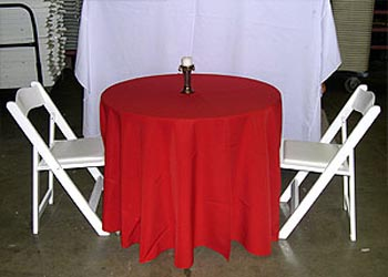 "102"" Round Table Cover $10"