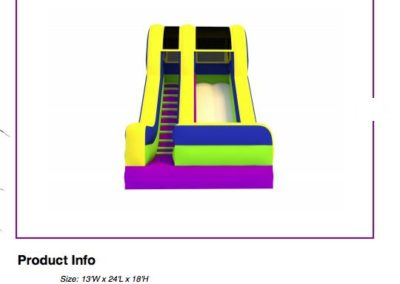 18 Inch Inflatable Slide $200