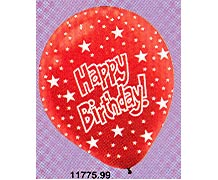 Happy B-Day Balloons 11in