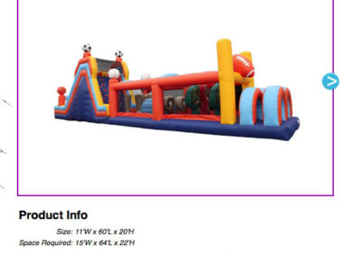 60' Sports Course $300