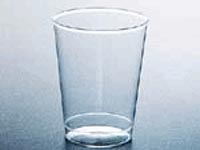 Clear plastic 10 oz cups
