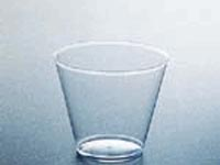 Clear plastic 9 oz cups