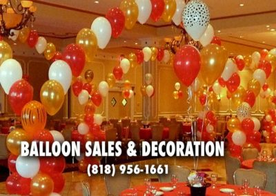 Balloon sales and decoration