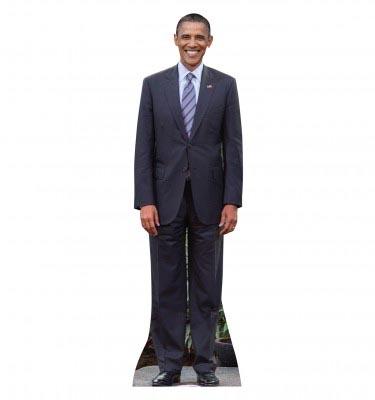 Barak Obama Cardboard