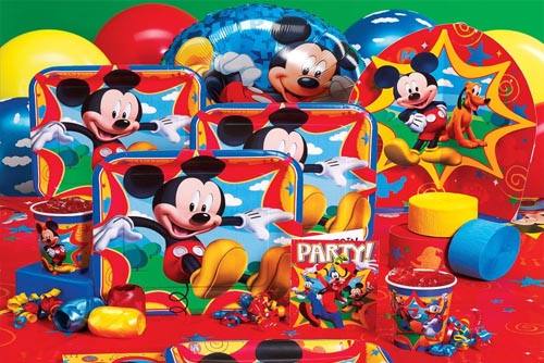 Birthday Party Micky Mouse Plates