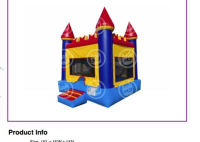 Castle Bounce House  $70
