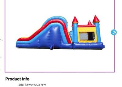 Combo - Giant Castle $180