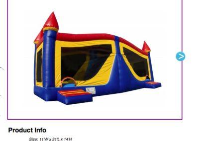 Combo - Large Castle  $180