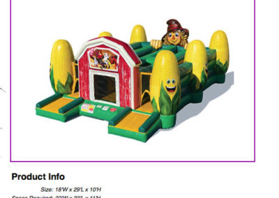 Corn Maze Obstacle $390