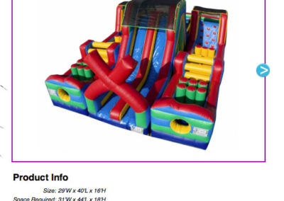 Extreme Rush Obstacle $490