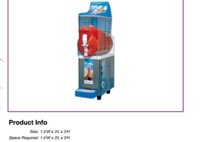 Frozen Drink Margarita Machine $150
