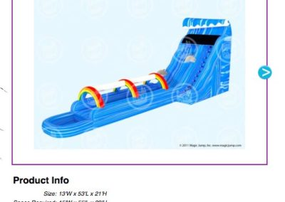 Giant Wave Slip and Slide $400