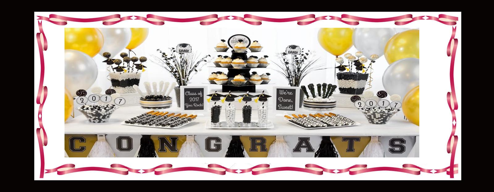 Graduation Party Supplies in Glendale CA