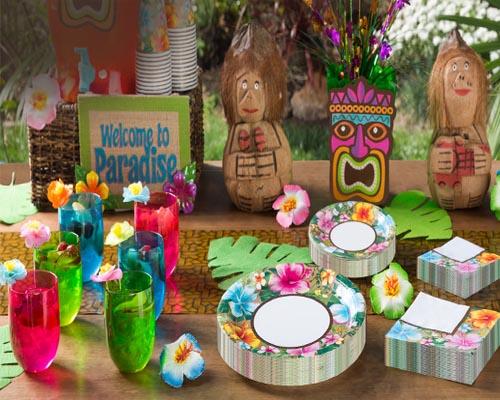 Hawaiian Luau decoration