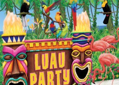 Hawaiian Luau decorations