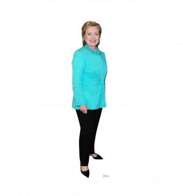 Hillary Clinton cardboard