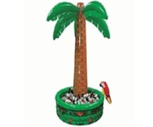 Inflatable Palm Tree Cooler 4'