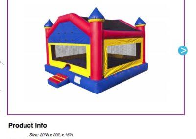 Jumbo Fun House  $150