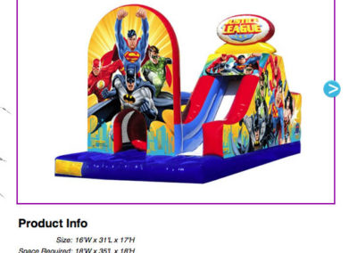 Justice League Obstacle Challenge $330