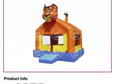 Lion Bouncer $75