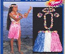 Luau Nylon Hula Set Child Size