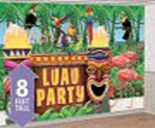 Luau Party Screen Setter