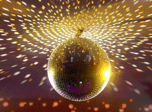 Party mirror balls for rent