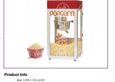Popcorn Machine $70