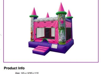 Princess Castle $80