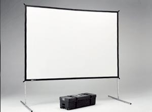 Projector screens for rent