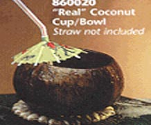 Real Coco Cup Bowl