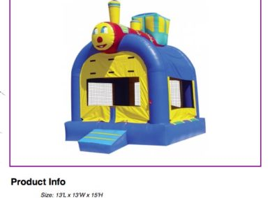 Train Bouncer $75