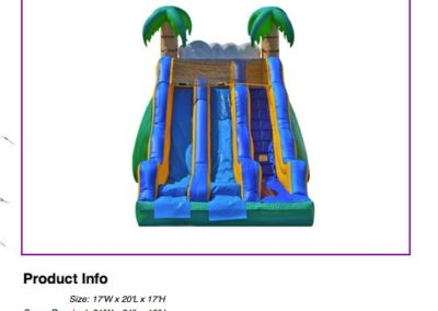 Tropical Dual Slide $250
