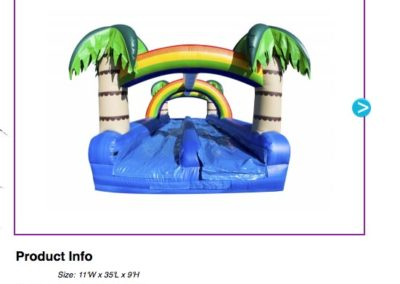 Tropical Dual Slip n Slide $225
