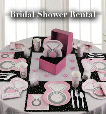 bridal shower rental