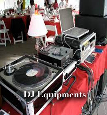 dj equipments for rent