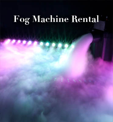 fog machine rental