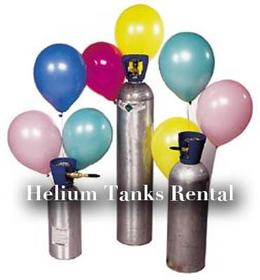 helium tanks rental