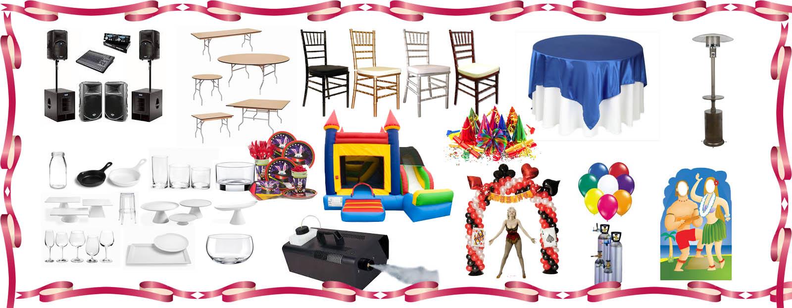 Party Supply Rentals